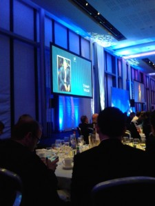 Tommy Walsh speaking at the Housing Excellence Awards 2013