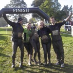 The end of the '5k Mud Run' challenge.