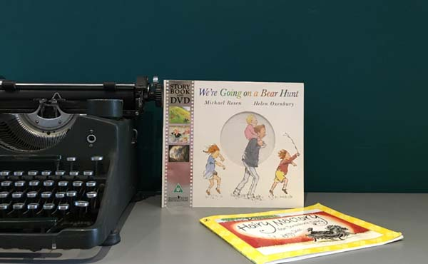 Book recommendations from Hayley - We're Going On A Bear Hunt & Hair Maclary from Donaldson's Dairy