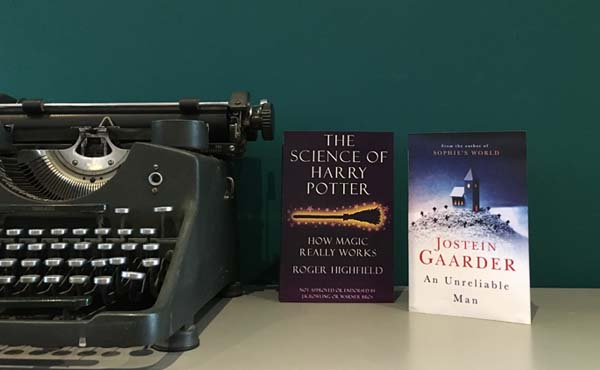 Book recommendations from Kelly - The Science of Harry Potter & An Unreliable Man